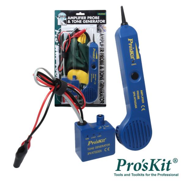 Testador De Cabos/Continuidade C/ Gerador De Tons PROSKIT - (3PK-NT023N)