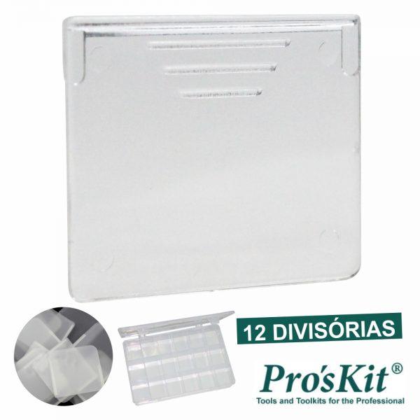 Divisórias P/ Caixa De Armazenamento 203-132e 12x PROSKIT - (503-132E-D12)