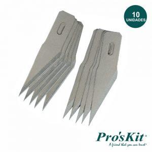 Conjunto 10 Laminas P/ X-Ato Precisão 8pk-394b PROSKIT - (8PK-394B-B)