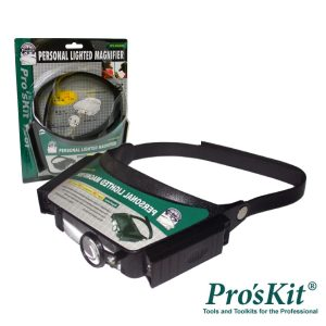 Lupa De Cabeça C/ Iluminação A Lâmpada PROSKIT - (8PK-MA003N)