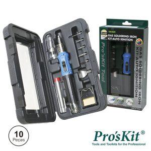 Ferro De Soldar A Gás C/ Kit Auto Ignição PROSKIT - (GS-200K)