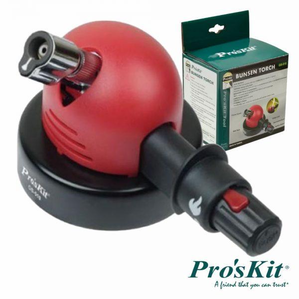 Queimador De Gás Bico De Bunsen C/ Ignição PROSKIT - (GS-510)