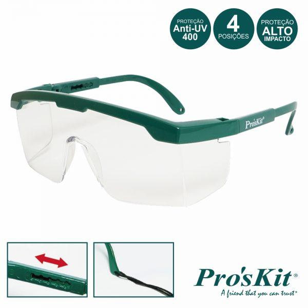 Óculos Proteção Visão Total PROSKIT - (MS-710)