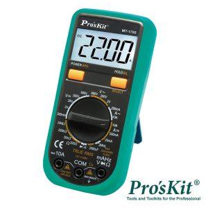Multímetro Digital 3½ Dígitos True Rms PROSKIT - (MT-1705)