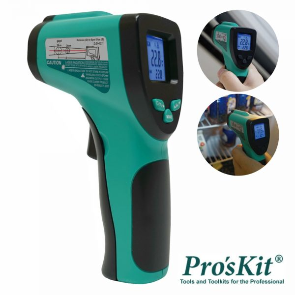 Termómetro Ir Digital C/ Laser PROSKIT - (MT-4606)