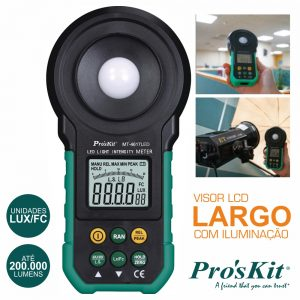 Luxímetro Digital PROSKIT - (MT-4617LED)