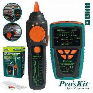 Testador De Cabos/Continuidade C/ Gerador De Tons PROSKIT - (MT-7029)
