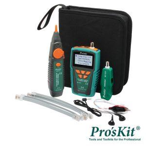 Testador De Cabos/Continuidade C/ Gerador De Tons PROSKIT - (MT-7071)