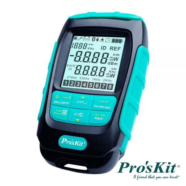 Medidor de Fibra Óptica PROSKIT - (MT-7617)
