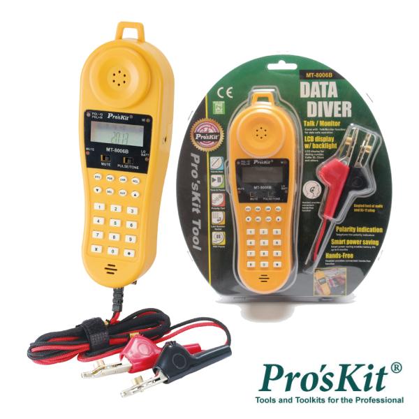 Testador Linhas Telefónicas PROSKIT - (MT-8006B)