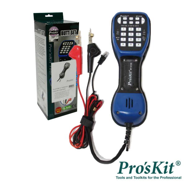 Testador Linhas Telefónicas PROSKIT - (MT-8100)