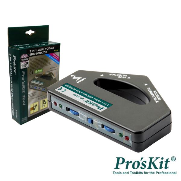Detetor Metais E Tensão LED Sinalizador PROSKIT - (NT-6352)