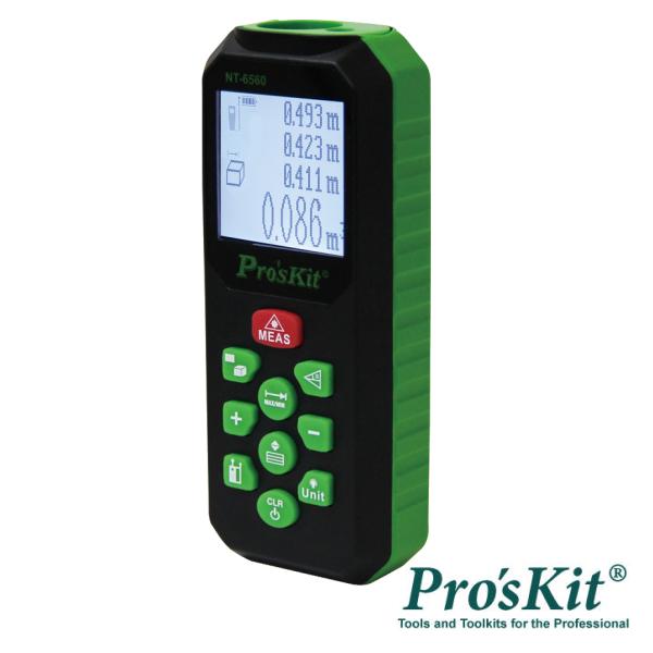 Medidor De Distâncias Digital C/ Laser 60m PROSKIT - (NT-6560)