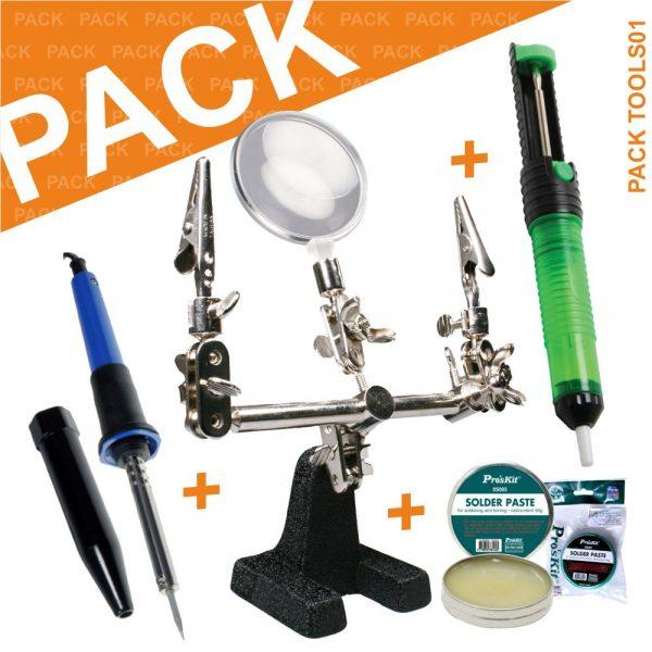 Pack Ferramentas 8s005+lpc01+dp-366j+8pk-S118b PROSKIT - (PACK TOOLS01)
