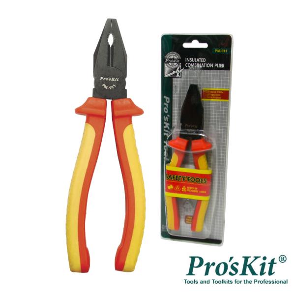 Alicate Universal 195mm 1000V PROSKIT - (PM-911)
