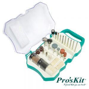 Conjunto 109 Acessórios P/ Moagem / Polir PROSKIT - (PT-5100)