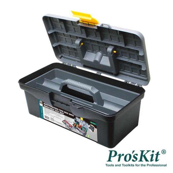 Caixa Ferramentas C/ Fecho PROSKIT - (SB-3218)