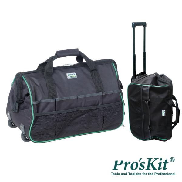 "Mala Transporte Ferramentas 20"" Poliéster C/ Rodas PROSKIT - (ST-5301)"