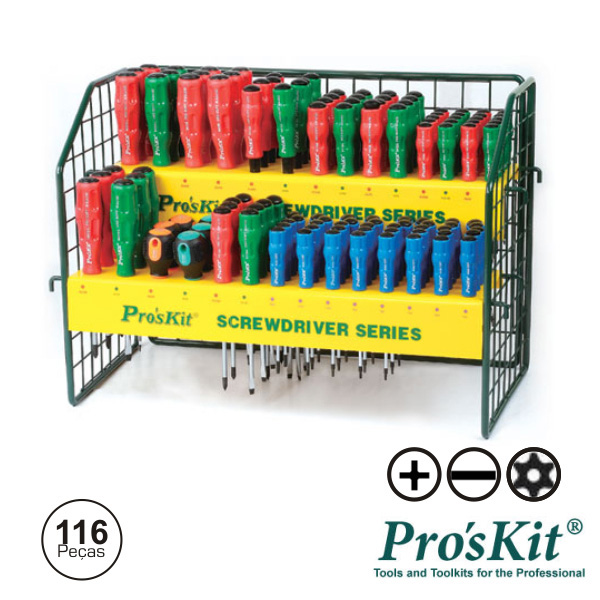 Expositor C/ 116 Chaves PROSKIT - (SW-2128)