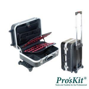 Mala Transporte Ferramentas Abs Rodas/Pega PROSKIT - (TC-311)